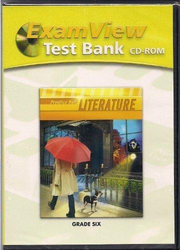 9780133667943: ExamView Test Bank: Prentice Hall Literature, Grade Six