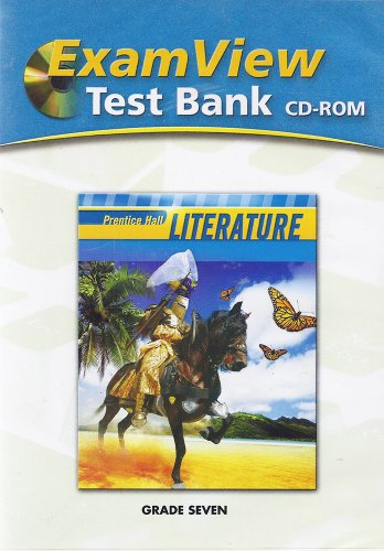 9780133667967: ExamView Test Bank: Prentice Hall Literature, Grade Seven
