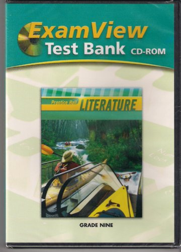 ExamView Test Bank: Prentice Hall Literature, Grade