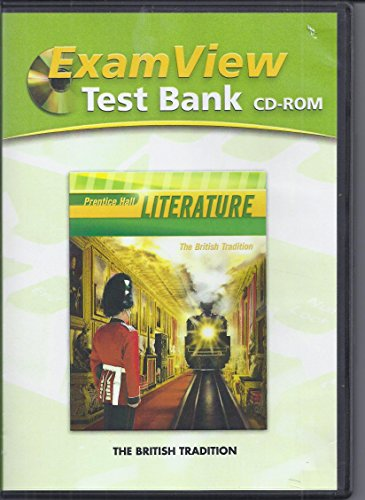 9780133668018: ExamView Test Bank: Prentice Hall Literature, The British Tradition