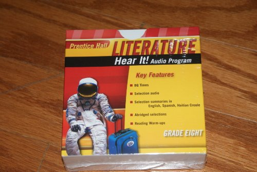 9780133668049: PRENTICE HALL LITERATURE 2010 HEAR IT! AUDIO PROGRAM GRADE 08