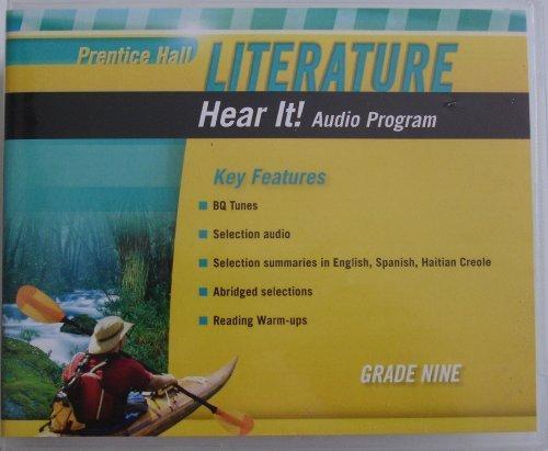 9780133668056: PRENTICE HALL LITERATURE 2010 HEAR IT! AUDIO PROGRAM GRADE 09