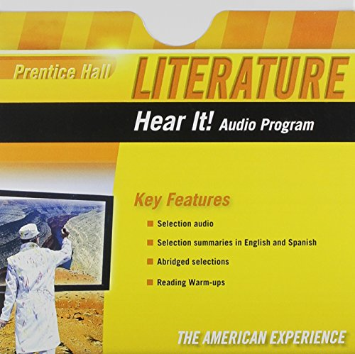 PRENTICE HALL LITERATURE 2010 HEAR IT! AUDIO PROGRAM GRADE 11: PRENTICE HALL