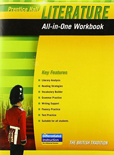 9780133668186: PRENTICE HALL LITERATURE 2010 ALL-IN-ONE WORKBOOK GRADE 12