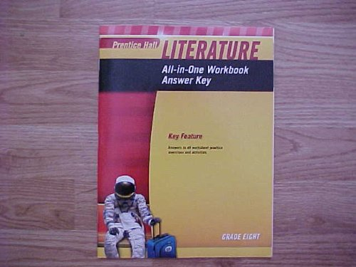 9780133668230: Prentice Hall Literature Grade 8 All In One Workbook Answer Key NATL / ISBN 0133668231 / 9780133668230