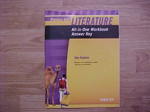 9780133668261: Prentice Hall Literature All - In - One - Workbook Answer Key Grade 10 National Edition / 9780133668261 / 0133668266