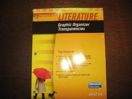 9780133668278: Prentice Hall Literature: Graphic Organizer Transparencies (Gr 6)