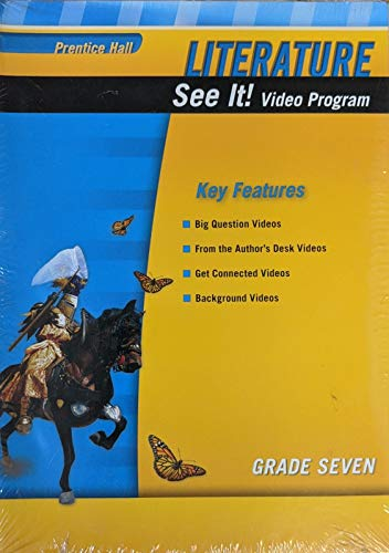 9780133668377: PRENTICE HALL LITERATURE 2010 SEE IT! DVD VIDEO PROGRAM GRADE 07