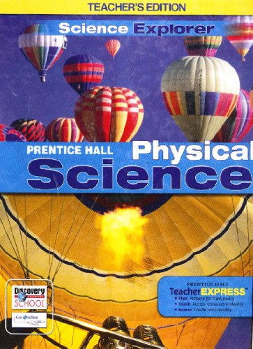 9780133668636: Physical Science Teacher Edition