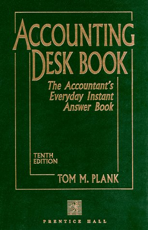 9780133669800: Accounting Desk Book