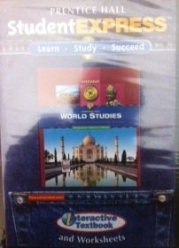 9780133671087: Prentice Hall Student Express: World Studies Interactive Textbook and Worksheets