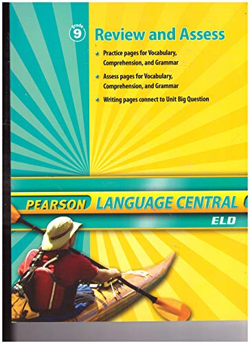 9780133675214: Pearson Language Central ELD Review and Assess grade 9