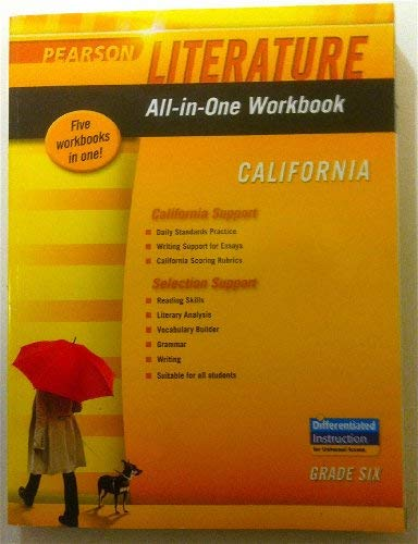9780133675498: All-in-One Workbook, California (Pearson Literature)