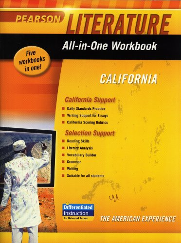 Literature All-in-One Workbook California Grade 11: Pearson