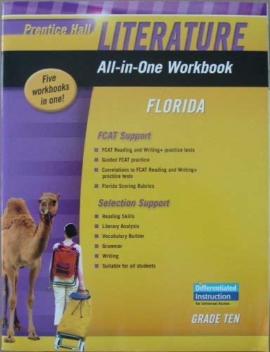 Prentice Hall Literature, All-in-One Workbook, Florida, Grade: Prentice Hall