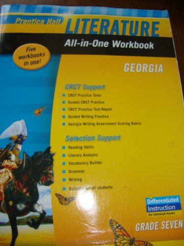 9780133677782: Prentice Hall Literature All-In-One Workbook Georgia Grade 7