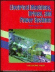 9780133678895: Electrical Machines, Drives, and Power Systems, Third Edition