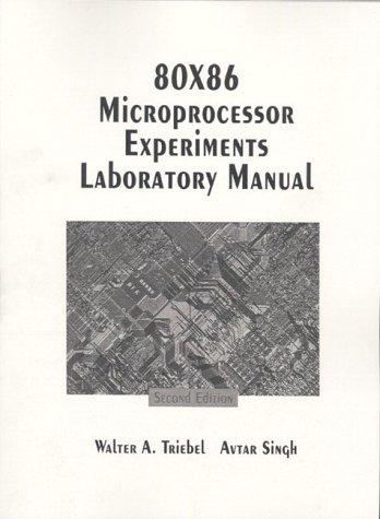 9780133679137: 80 X 86 Microprocessor Experiments: Laboratory Manual