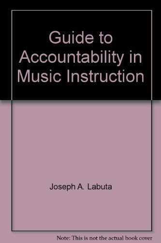 9780133679533: Guide to accountability in music instruction