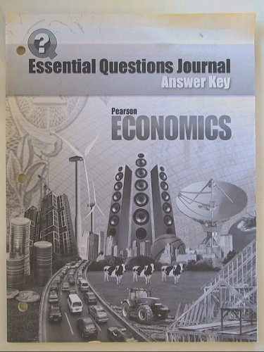 9780133680409: Pearson Economics: Essential Questions Journal, Answer Key Isbn 0133680401 9780133680409