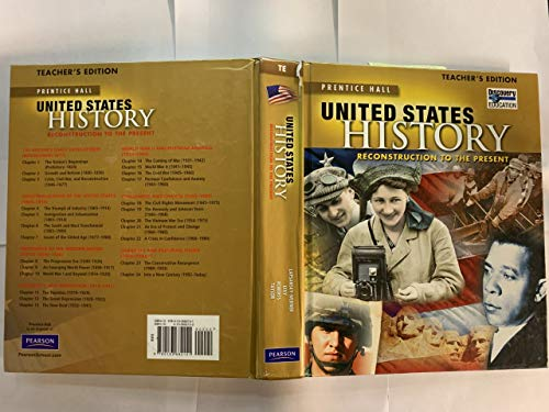 9780133682151: Prentice Hall United States History: Reconstruction To The Present, Teacher's Edition