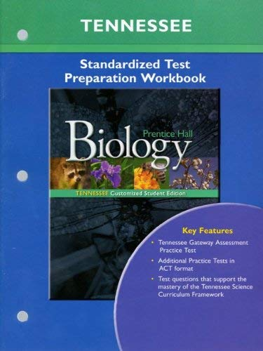 9780133682328: Prentice Hall Tennessee Biology Standardized Test Preparation Workbook.