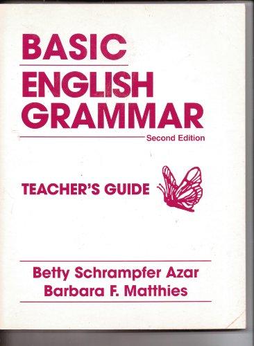 9780133683257: Basic English Grammar: Second Edition: Teacher's Guide: Teacher's Copy