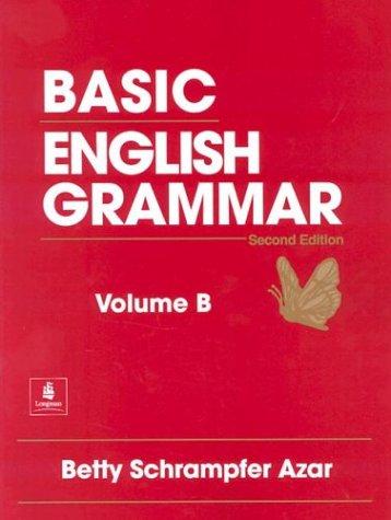 9780133683585: Basic English Grammar, Vol. B: Student Text