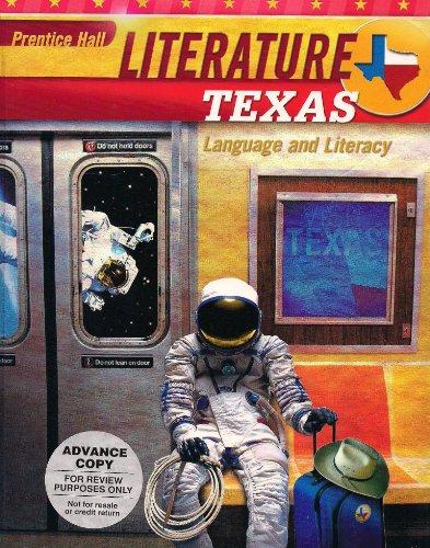 9780133684421: Prentice Hall Literature Texas Language and Literacy - Grade Eight