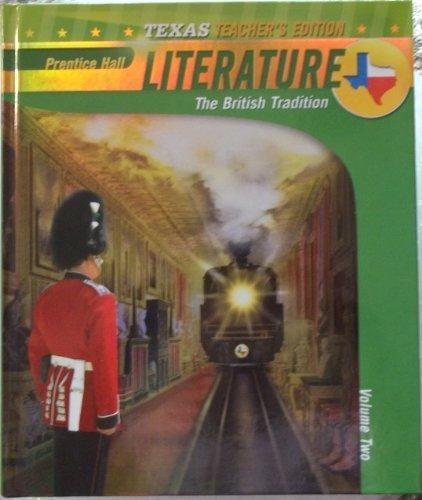 Prentice Hall Literature: The British Tradition, Vol.