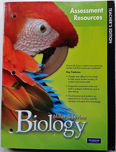 9780133687316: Miller & Levine Biology Teacher's Edition Assessment Resources Program