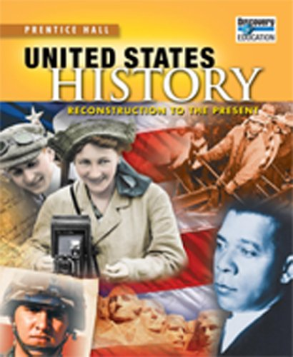 9780133688092: UNITED STATES HISTORY 2010 ADAPTED READING AND NOTETAKING STUDY GUIDE   RECONSTRUCTION
