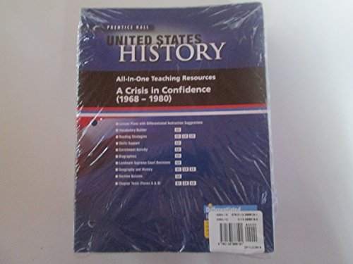 9780133688191: Prentice Hall United States History 2010 Teaching Resources / Teacher Resource Pack Grade 11/12 11 & 12
