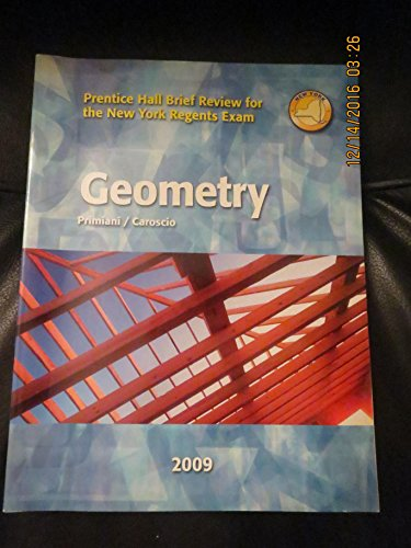 Geometry (Prentice Hall Brief Review for the: Primiani / Caroscio