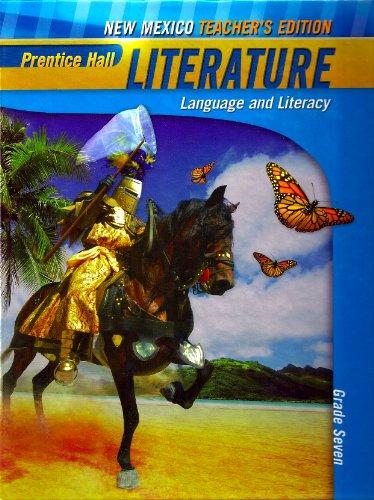 9780133691436: Prentice Hall Literature: Language and Literacy: Penguin Edition: New Mexico Teacher's Edition Grade Seven