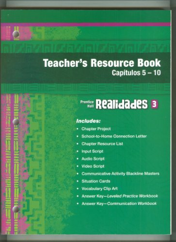 9780133692594: Realidades Teachers Resource Book Capituos 5-10