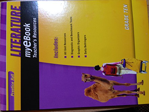 9780133693256: Literature, Grade Ten (10) myeBook Teacher's Resources CD-ROM