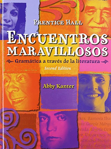 9780133693744: ENCUENTROS MARAVILLOSO GRAMï¿Â1/2TICA STUDENT EDITION (HARDCOVER)