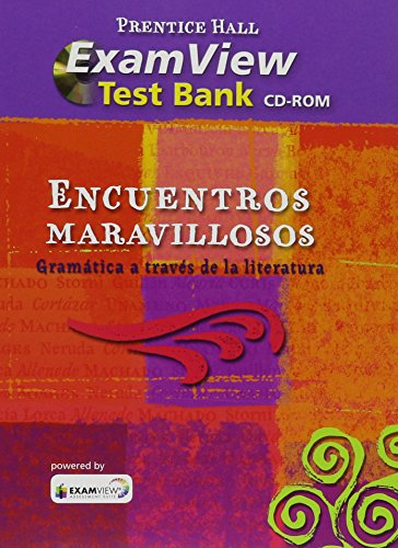 9780133693782: ENCUENTROS MARAVILLOSO GRAMï¿Â1/2TICA EXAMVIEW CD-ROM