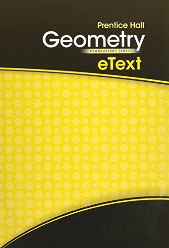 9780133696547: HIGH SCHOOL MATH 2011 GEOMETRY FOUNDATIONS STUDENT EDITION ON CD-ROM