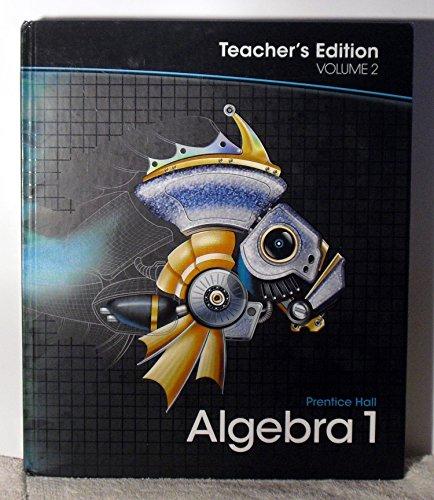 Algebra 1, Vol. 2, Teacher's Edition: Charles