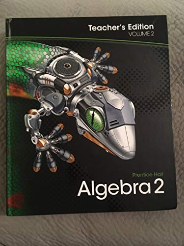 9780133697063: Algebra 2 Volume 2 Teacher's Edition Prentice Hall