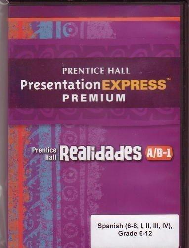 9780133698190: REALIDADES 2011 PRESENTATION EXPRESS DVD-ROM LEVEL A/B/1