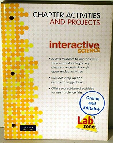 9780133698534: Chapter Activities and Projects Lab Zone (Interactive Science)