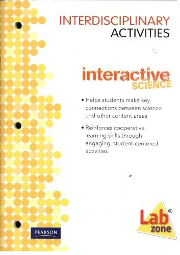 9780133698541: Interactive Science Interdisciplinary Activities