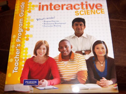 9780133698640: Interactive Science Overview and Planning Teacher' S Program Guide – Softcover (2011)