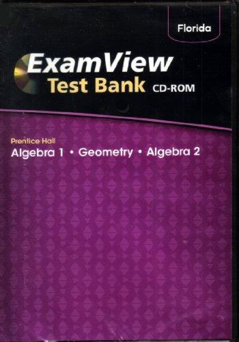9780133701517: Exam View Test Blank (Algebra 1, Geometry, Algebra 2)