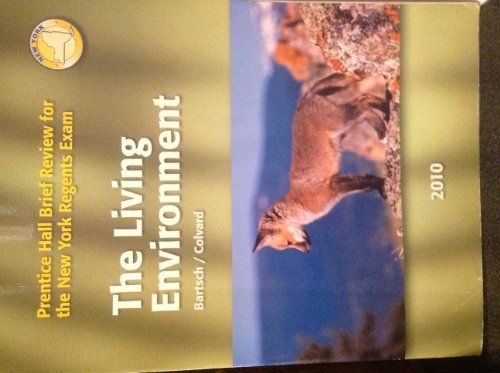 9780133704112: Prentice Hall Brief Review for the New York Regents Exam the Living Enviroment