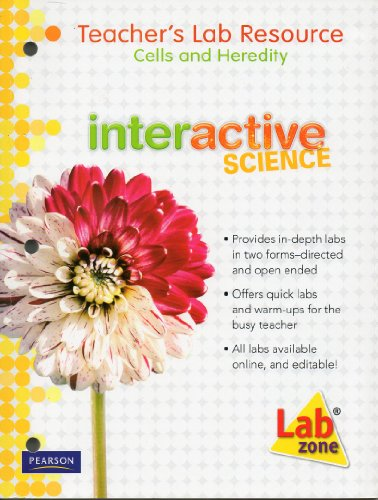 Interactive Science Teacher's Lab Resource Cells and Heredity (Interactive Science, Cells and ...