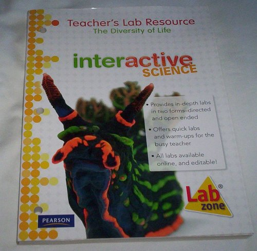 9780133705584: Teacher's Lab Resource: The Diversity of Life: Interactive Science (Volume 8)